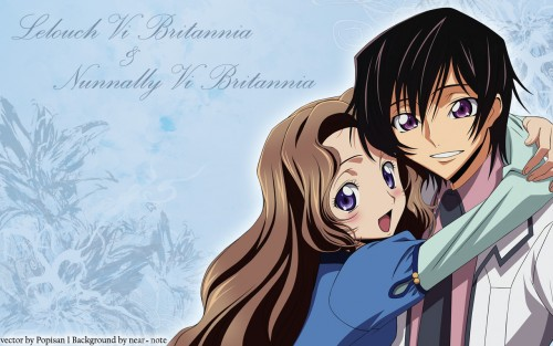Lelouch of the Rebellion, Lelouch Lamperouge, Nunnally Lamperouge Wallpaper