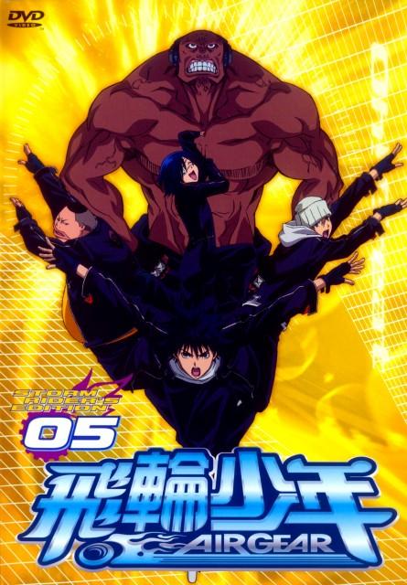 Oh! Great, Toei Animation, Air Gear, Itsuki Minami, Onigiri (Air Gear)