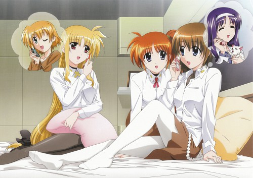 Seven Arcs, Mahou Shoujo Lyrical Nanoha StrikerS, MSLN StrikerS Visual Collection 1, Fate Testarossa, Nanoha Takamachi