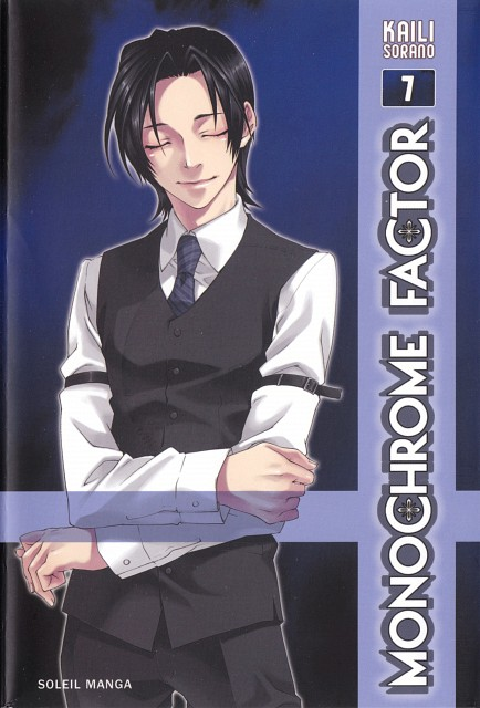 Kaili Sorano, A.C.G.T., Monochrome Factor, Shuichi Wagatsuma, Manga Cover