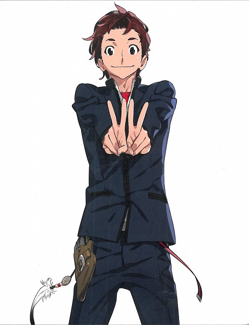5pb., Production I.G, Robotics Notes, Kaito Yashio, Postcard