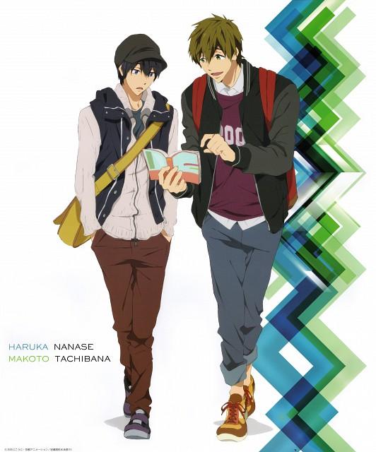 Kyoto Animation, Free!, Makoto Tachibana, Haruka Nanase (Free!)