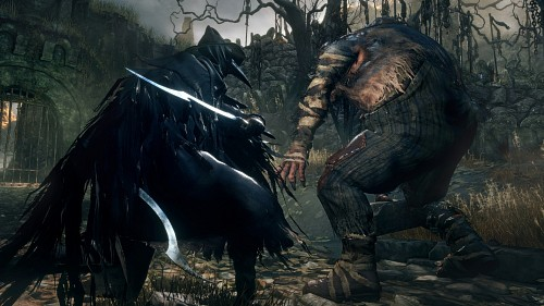 FromSoftware, Sony Computer Entertainment Inc, Bloodborne, Eileen The Crow, Game CG