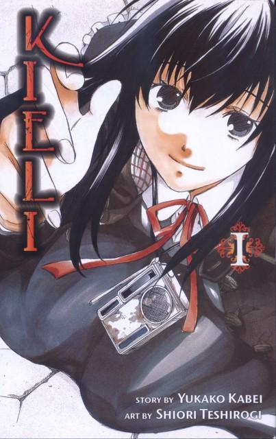 Shiori Teshirogi, Kieli, Kieli (Character), Manga Cover
