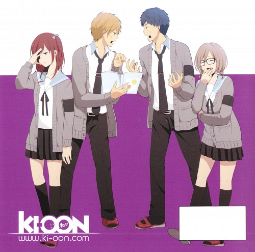 TMS Entertainment, ReLIFE, An Onoya, Kazuomi Ooga, Rena Kariu