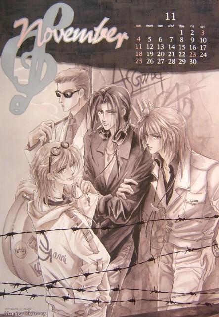 Mamiya Oki, Calendar