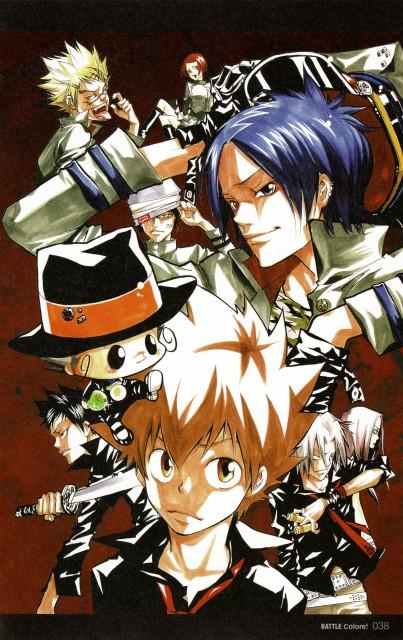 Akira Amano, Katekyo Hitman Reborn!, Colore!, Mukuro Rokudo, Leon (Katekyo Hitman Reborn!)
