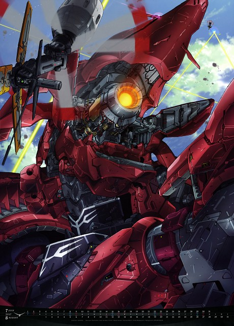 Iwao Teraoka, Sunrise (Studio), Mobile Suit Gundam - Universal Century, Mobile Suit Gundam Unicorn, Mobile Suit Gundam Series 2017 Calendar