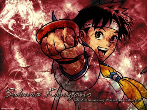 Capcom, Rival Schools, Street Fighter, Sakura Kasugano Wallpaper