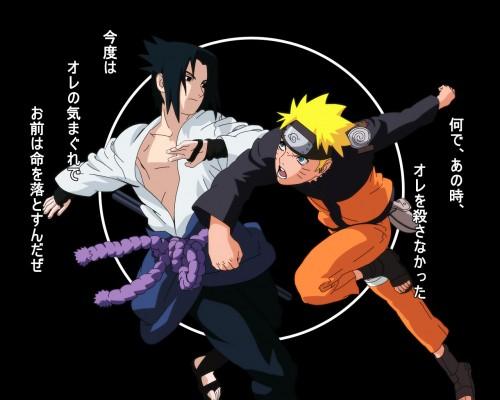 Masashi Kishimoto, Studio Pierrot, Naruto, Naruto Uzumaki, Sasuke Uchiha Wallpaper