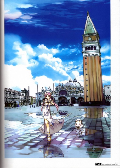 Kozue Amano, Hal Film Maker, Aria, Cielo – Kozue Amano Illustration Works 3, Aria Shachou