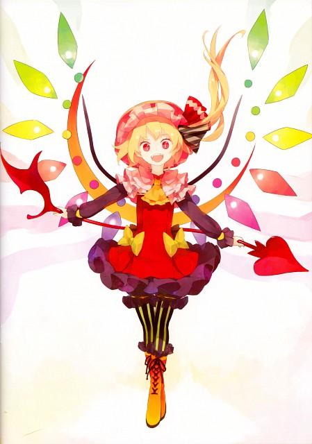 Shihou (Mangaka), Touhou Yuu Gajou Kurenai, Touhou, Flandre Scarlet, Comic Market