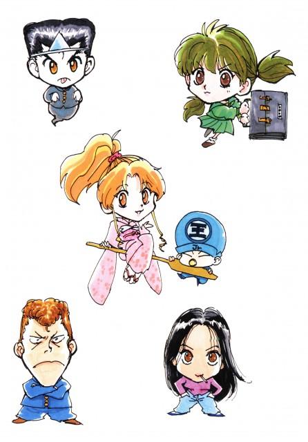 Yoshihiro Togashi, Yuu Yuu Hakusho, Kazuma Kuwabara, Botan, Atsuko Urameshi