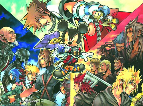 Square Enix, Kingdom Hearts, Mickey Mouse, Ventus, Luxord