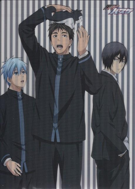 Tadatoshi Fujimaki, Production I.G, Kuroko no Basket, Tetsuya Kuroko, Makoto Hanamiya