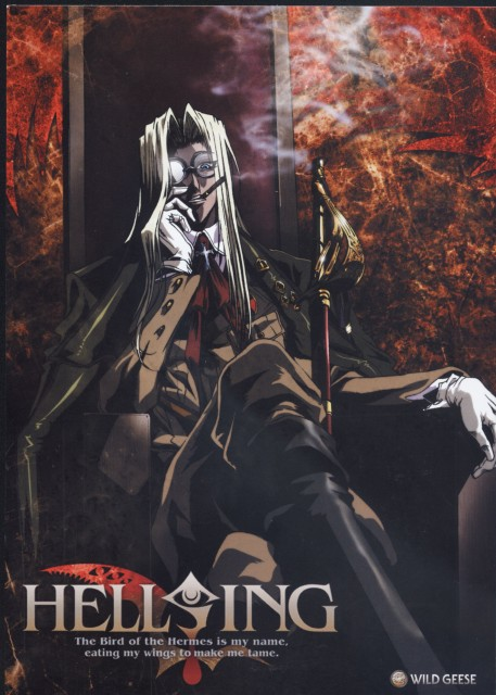 Kouta Hirano, Geneon/Pioneer, Hellsing, Integra Fairbrook Wingates Hellsing, DVD Cover