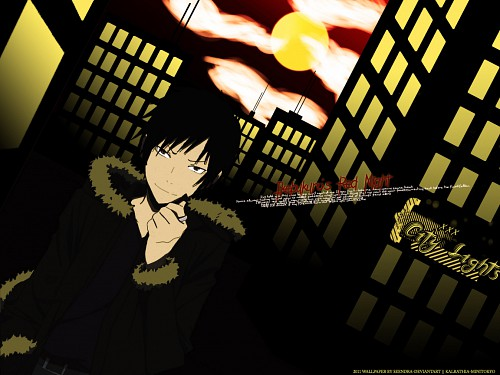 Suzuhito Yasuda, Brains Base, DURARARA!!, Izaya Orihara, Vector Art Wallpaper