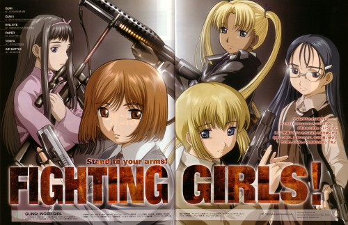 Madhouse, Gunslinger Girl, Rico (Gunslinger Girl), Angelica (Gunslinger Girl), Triela