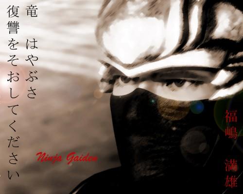 Tecmo, Ninja Gaiden, Ryu Hayabusa Wallpaper