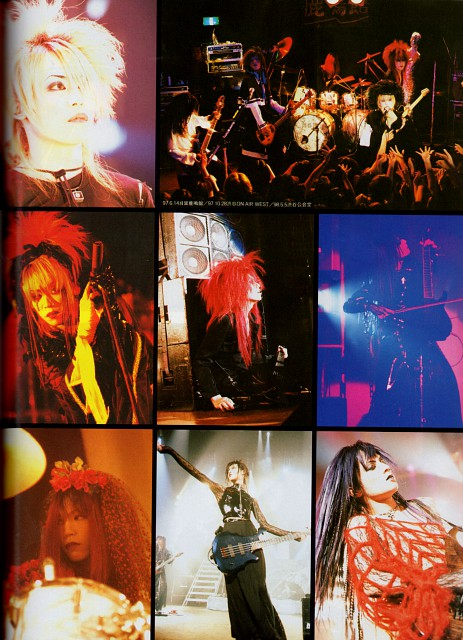Kyo (J-Pop Idol), Toshiya, Dir en Grey, Shinya, Die