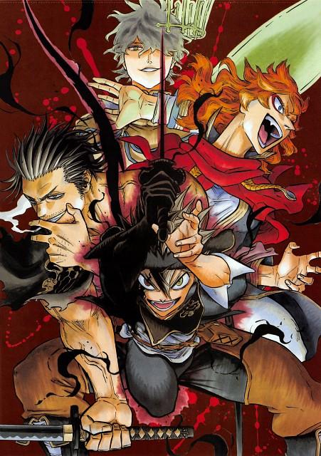 Yuuki Tabata, Black Clover, Asta, Yuno (Black Clover), Yami Sukehiro