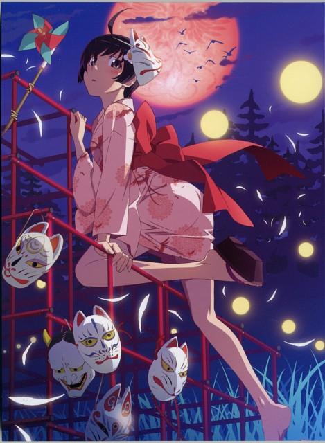 Akio Watanabe, Shaft (Studio), Bakemonogatari, Tsukihi Araragi, DVD Cover