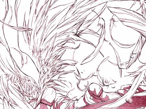 Yukiru Sugisaki, Xebec, D.N.Angel, Krad Wallpaper