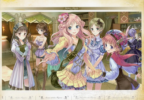 Mel Kishida, Gust, Atelier Meruru, Hom (Atelier Rorona), Totooria Helmold