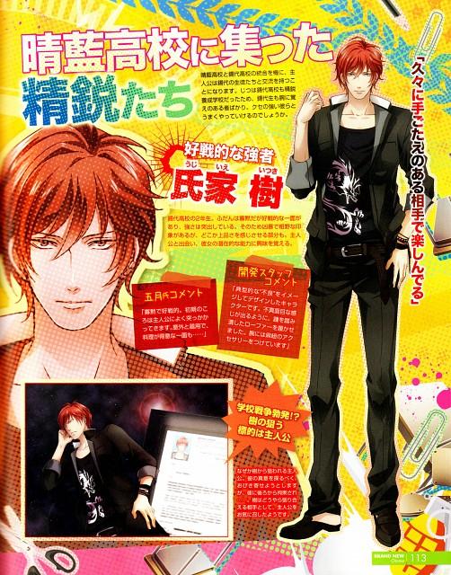 QuinRose, School Wars, Itsuki Ujiie, Magazine Page
