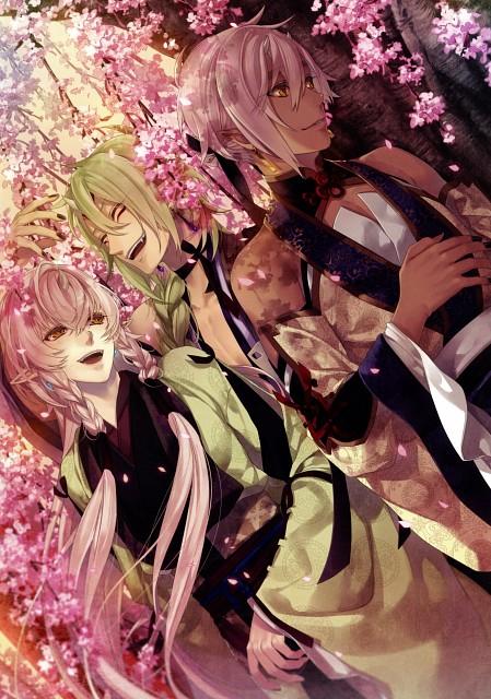 Yomi (Mangaka), Rejet, Ken ga Kimi Wafuu Denki Emaki, Ken ga Kimi, Shiguragi