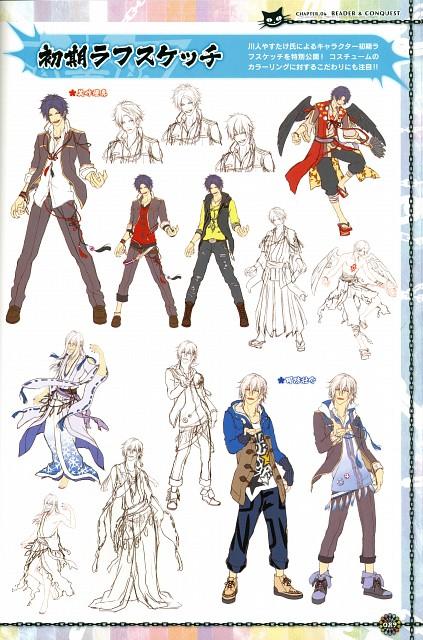 Yasutake Kawahito, Idea Factory, KLAP - Official Visual Fanbook, KLAP!!, Sousuke Suo