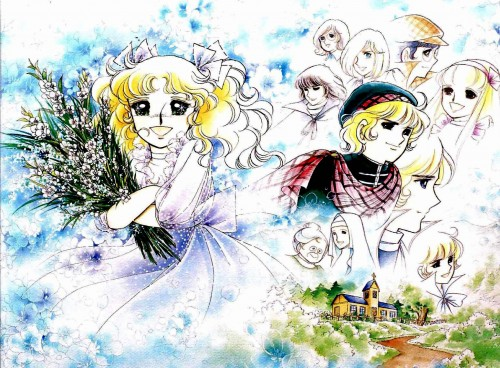 Yumiko Igarashi, Candy Candy, Terrence G. Grandchester, Archie Cornwell, Sister Lane