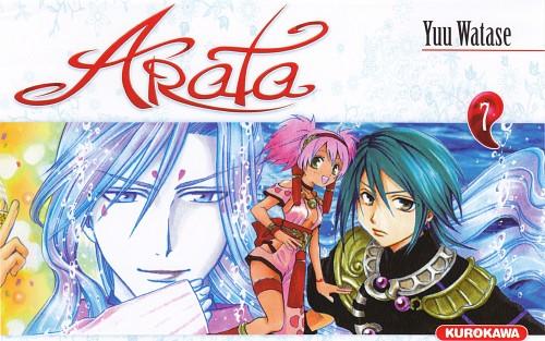 Yuu Watase, Arata Kangatari, Mikusa, Manga Cover