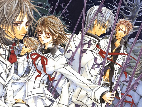 Matsuri Hino, Vampire Knight, Hino Matsuri Illustrations: Vampire Knight, Hanabusa Aidou, Akatsuki Kain