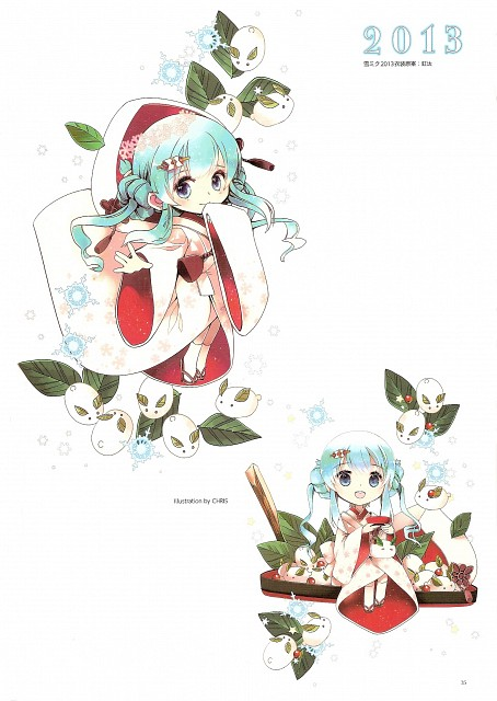 Chris (Mangaka), Snow Miku 5th Anniversary Memorial Book, Vocaloid, Miku Hatsune