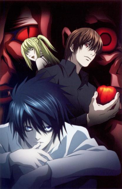 Madhouse, Death Note, L, Light Yagami, Rem