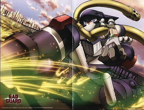 Gonzo, GAD Guard, Hajiki Sanada, DVD Cover