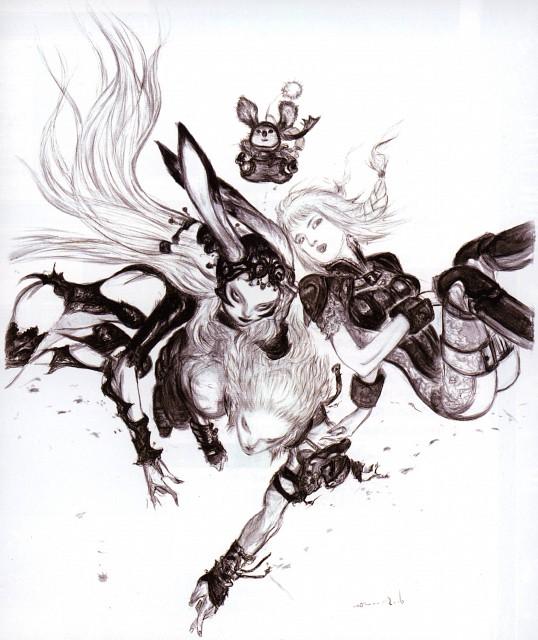 Yoshitaka Amano, Square Enix, Final Fantasy XII, Ashe, Fran (Final Fantasy XII)