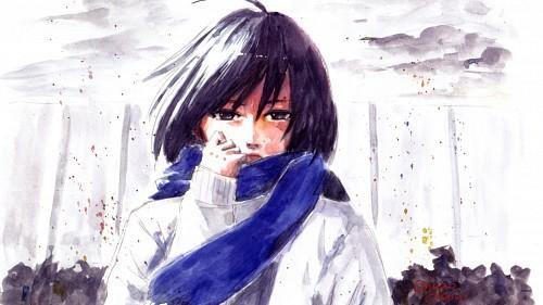 Shuuzou Oshimi, Shingeki no Kyojin, Mikasa Ackerman