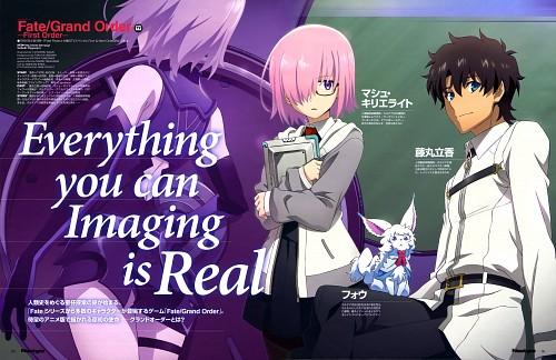 Tatsurou Nagai, Lay-duce, Fate/Grand Order, Shielder, Ritsuka Fujimaru