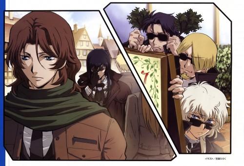 Taraku Uon, Mobile Suit Gundam 00, Mobile Suit Gundam 00P, Hixar Fermi, Grave Violento