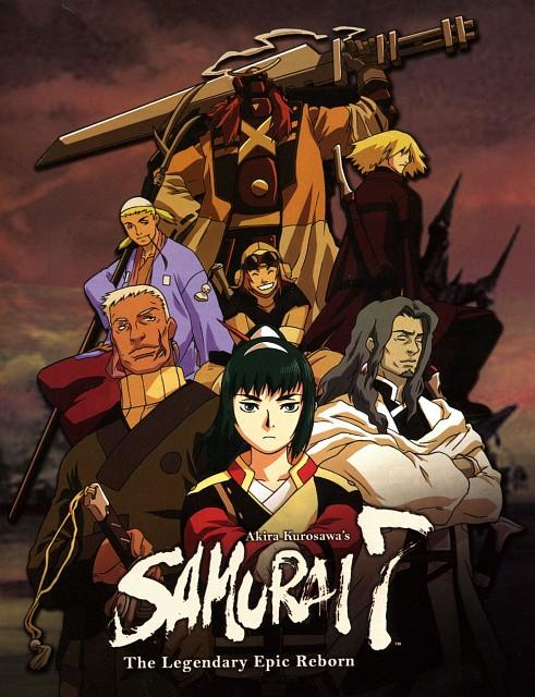 Gonzo, Samurai 7, Kikuchiyo, Heihachi Hayashida, Shichiroji