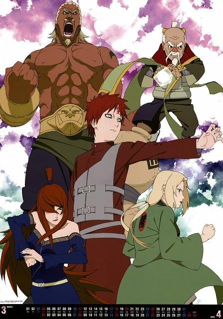 Studio Pierrot, Naruto, Mei Terumii, E (Character), Gaara