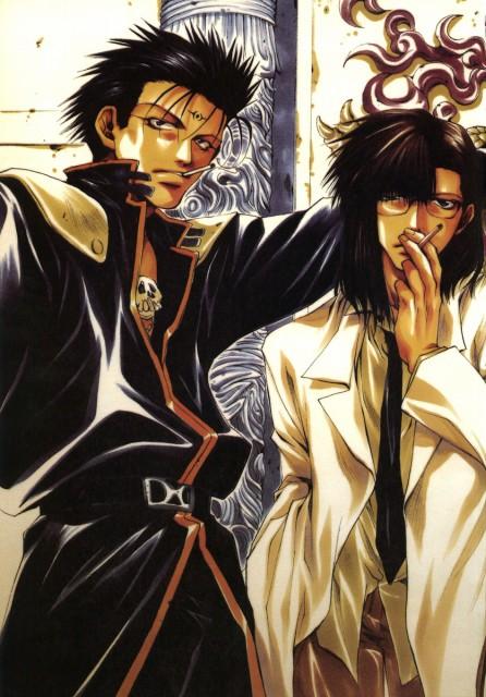 Kazuya Minekura, Saiyuki Gaiden, Salty Dog I, Tenpou Gensui, Kenren Taishou