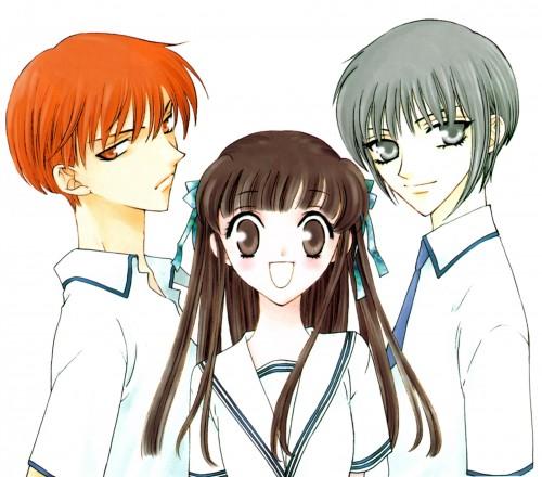 Fruits Basket: Kyo, Tohru & Yuki