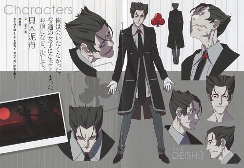 Shaft (Studio), Bakemonogatari, Deishu Kaiki, Character Sheet