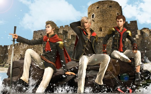 Square Enix, Final Fantasy Type-0, Nine (Final Fantasy Type-0), Jack (Final Fantasy Type-0), Eight (Final Fantasy Type-0) Wallpaper