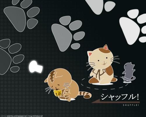 Hiro Suzuhira, Shuffle!, Vector Art Wallpaper