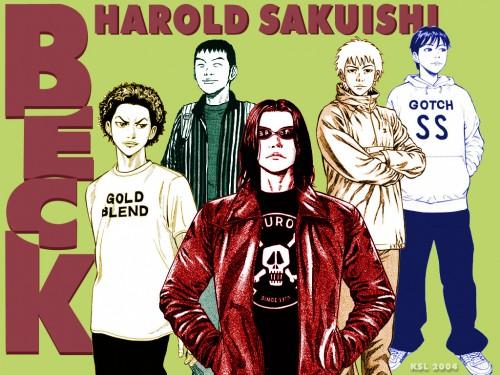 Harold Sakuishi, Madhouse, BECK, Ryusuke Minami, Tsunemi Chiba Wallpaper
