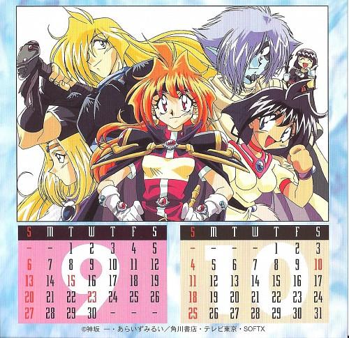 Rui Araizumi, J.C. Staff, Slayers, Xellos, Lina Inverse